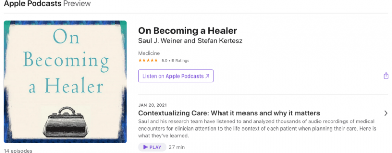 Podcast: On becoming ahealer
