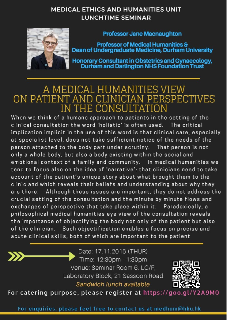 A Medical Humanities View On Patient And Clinician Perspectives In The Consultation