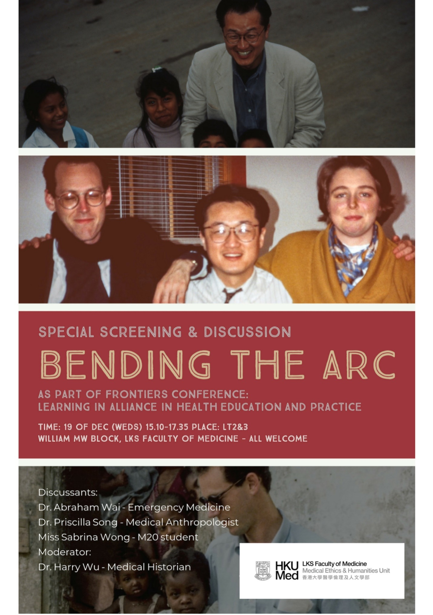 Bending the Arc- As Part Of Frontiers Conference: Learning In Alliance In Health Education And Practice